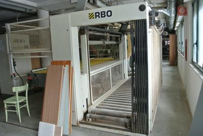 Squaring edgebanding line Stefani and wall protection panel - Lot  (Auction 1396)