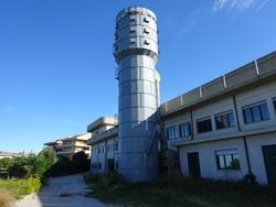 Impianto aspirazione trucioli con silos Sperandei - Lotto 20 (Asta 1396)