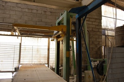 Stacking machine Penta strapping system Itipack forklift Linde - Auction 1416