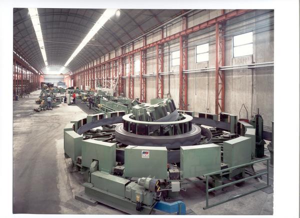 3#1495 Impianti e attrezzature per produzione di tubi saldati e di forma