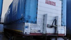 Curtainsider semi trailer Schmitz Aenhanger - Lot 10 (Auction 1548)