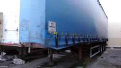 Curtainsider semi trailer Zorzi - Lot 11 (Auction 1548)