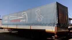 Curtainsider semi trailer Cardi - Lot 4 (Auction 1548)