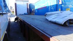 Flatbed semi trailer Cardi - Lot 5 (Auction 1548)