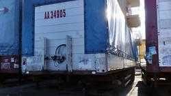 Curtainsider semi trailer Schmitz Aenhanger - Lot 8 (Auction 1548)
