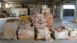 Stock mobili semilavorati e utensili lavorazione legno - Asta 1553