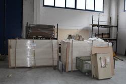 Ingente magazzino di materiale per produzione mobili - Asta 1561
