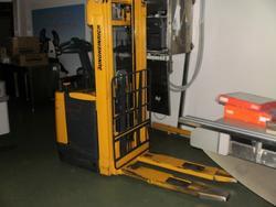 Jungheinrich lift truck - Lot 10 (Auction 1618)