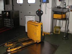 Jungheinrich electric pallet truck - Lot 30 (Auction 1618)