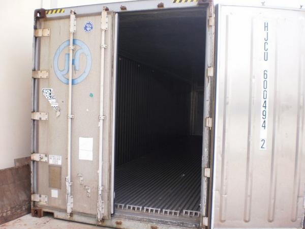 4#1618 Container frigo Type 40