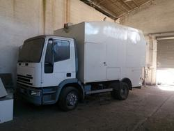 Cristanini dumpsters washing vehicle and Sicas road sweeper - Auction 1638
