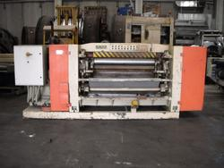 Flamar leather refining machine and leather treatment machines - Auction 1643