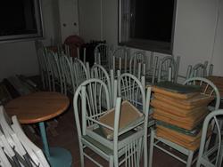 Sedie e tavoli da interno e giardino - Lotto 43 (Asta 1674)