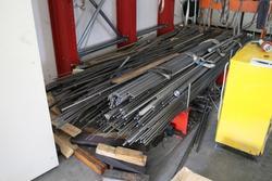 Barre di ferro alluminio acciaio e ottone - Lotto 36 (Asta 1703)