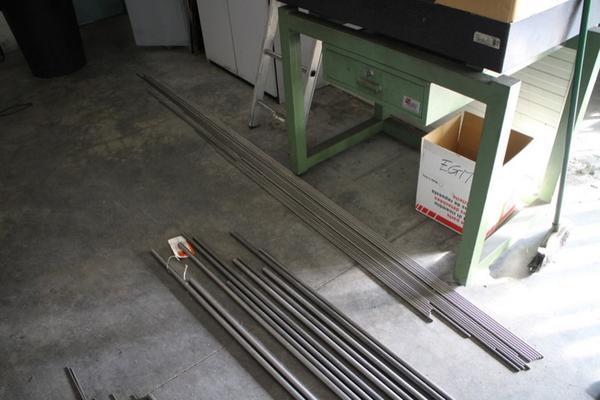 Lotto barre di ferro alluminio acciaio e ottone for Prezzo del ferro al kg oggi