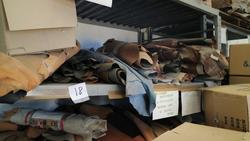 Stock leather and sewing machines Necchi and Bernina - Auction 1722
