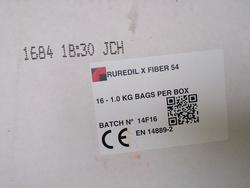 Synthetic structural fiber Ruredil Fiber 54 - Lot 8 (Auction 1770)