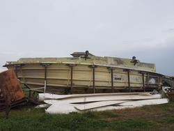 XL Marine 45 mould and hull boat - Lot 2 (Auction 17870)
