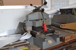 Macchina    scaldamatrice     forno asciugatrice e torchio tipografico - Lot 3 (Auction 1800)