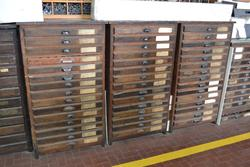Printing equipment and shelving - Lot 7 (Auction 1800)