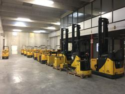 Order pickers Om Xlogo and warehouse trucks Om XR and XOP - Auction 1803