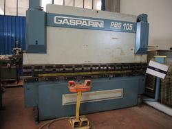 Pressa piegatrice Gasparini PBS 105 3000 - Lotto 3 (Asta 1833)