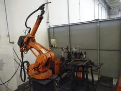 Impianto robotizzato di saldatura Abb - Lotto 29 (Asta 1838)