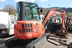 Eurocomach mini excavator - Lot 13039 (Auction 1871)