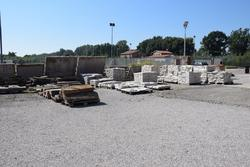 White stone and stone slabs retrieved - Lot 2 (Auction 1881)