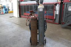 Oxyacetylene Cutting and Welding Trolley - Lot 48 (Auction 1944)