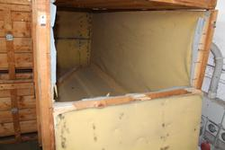 Cassa di legno per spedizioni internazionali - Lotto 144 (Asta 19440)