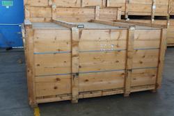 Cassa di legno per spedizioni internazionali - Lotto 167 (Asta 19440)