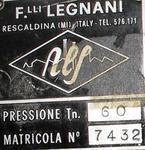 Immagine 2 - Pressa Legnani - Lotto 203 (Asta 19521)