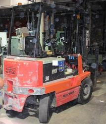 NYK Forklift - Lot 302 (Auction 19521)