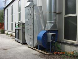 MZG welding island aspiration plant - Lot 327 (Auction 19521)