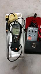 Testo anemometer and Vemer insulation meter - Lot 13 (Auction 1967)