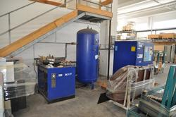 Ceccato compressed air system - Lot 34 (Auction 1987)