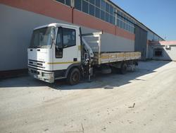Iveco Eurocargo truck with crane - Lot 1 (Auction 1993)