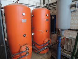 Impianto con boiler