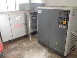 Compressors and dryer - Lot 13 (Auction 1998)