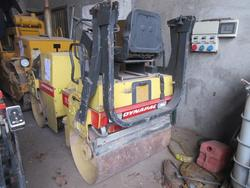 Dynapac vibrating roller - Lot 35 (Auction 2000)