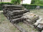 Traversine in legno - Lotto 82 (Asta 2005)