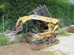 Cat 287b Compact Track  - Lot 33 (Auction 2008)