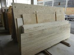 Stock of travertine marble and granite - Auction 2014