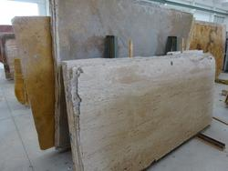 Travertine yellow and ros   plates - Lot 1608 (Auction 2014)