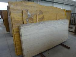 Classic and yellow travertine slabs - Lot 1609 (Auction 2014)