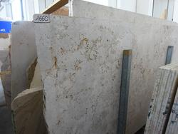 Walnut and rainbow travertine slabs - Lot 1660 (Auction 2014)