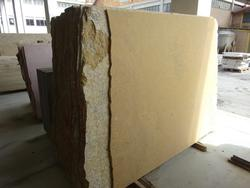 Yellow gold and travertine slabs - Lot 1692 (Auction 2014)