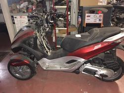 Piaggio M71 Motorcycle - Lot 60 (Auction 2030)