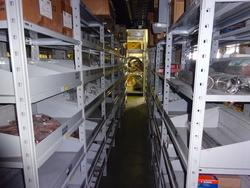 Shelving and mezzanine - Lot 5 (Auction 2034)